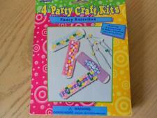 2 KITS Barrette Making Craft Kit Materials & Instructions Makes 8 Barrettes NIP