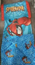 Spiderman Bedding Blue Red Sungle Duvet Cover Reversible & Pillow Case