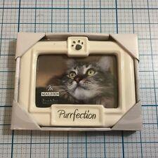 """MALDEN INTERNATIONAL DESIGNS """"Purrfection"""" Frame (3.5 x 5"""") - NWT"""
