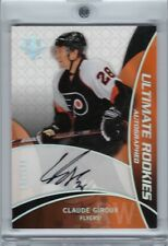 2008 - 09 ULTIMATE ROOKIE CARD - CLAUDE GIROUX - AUTOGRAPH RC MINT OR BETTER!!!