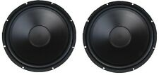 "New PAIR Ultra Heavy Duty 15"" Subwoofer Woofer Speaker P.A. DJ Car Home 800W !"