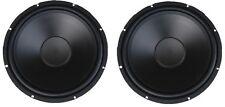 "New PAIR Ultra Heavy Duty 15"" Subwoofer Woofer Speaker P.A. DJ Car Home 800W !"