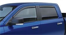 Chevy Truck Ext Cab EGR 571501 IN-CHANNEL TAPELESS FRONT & REAR WINDOW VISORS