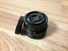 INDUSTAR-50 lens 50mm f/3.5 for FED, Leica M39 KMZ Black.Perfect