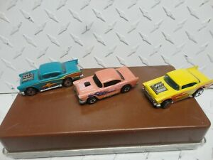 Loose Hot Wheels  Lot of (3) Chevy Bel Airs