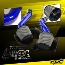 07-09 350Z V6 3.5L Blue Cold Air Intake + Stainless Steel Air Filter