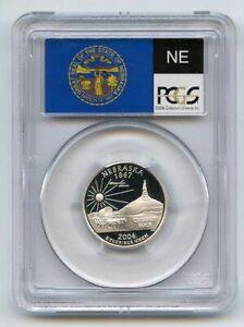 2006 S 25C Silver Nebraska Quarter PCGS PR70DCAM