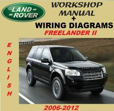 Workshop Manual - Manual De Taller Diagramas Electricos Land Rover Freelander II