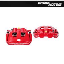 Rear Red Powder Coated Brake Caliper Pair Dodge RAM 2500 3500