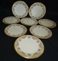 Lenox USA Versailles Set of 8 Salad Plates 8 1/4""