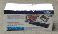 Brother TN-210C TN210C Cyan Toner Cartridge HL-3040CN Genuine New Open Box