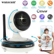 Wanscam 720P PTZ IP Camera 1/4in CMOS WIFI for Home Indoor Security APP US H2Q9