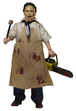 NECA LEATHERFACE TEXAS CHAINSAW MASSACRE RETRO ACTION DOLL VINTAGE FIGURE