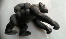 Chimpanzee with Baby Ape Toy Model Figure by AAA Early Learning