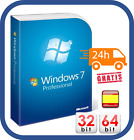 WINDOWS 7 PROFESSIONAL 32/64 BIT CLAVE ORIGINAL PRO KEY ESD ESPAÑOL [1PC]