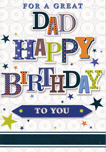 For Dad Birthday Card father