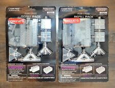 Lot of two Laser Pegs Lighted Deluxe Refill Pack 1310