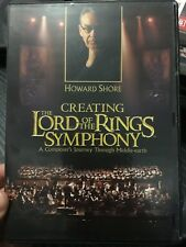 Howard Shore - Creating The Lord Of The Rings Symphony region 4 DVD documentary