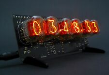 IN-12 Nixie Tube Clock. With Tubes.