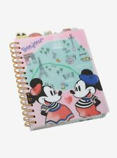 Disney's Mickey & Minnie Travels Tabbed Journal, NEW