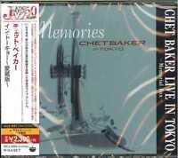 CHET BAKER-CHET BAKER LIVE IN TOKYO-JAPAN 2 CD F04
