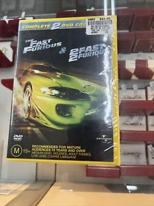 Fast And The Furious  / 2 Fast 2 Furious (DVD, 2004, 2-Disc Set)