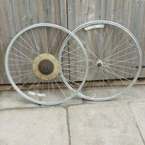"Araya CV-7 26"" Wheelset Vintage Mountain Bike Wheels Front & Rear"