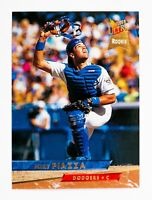 Mike Piazza #60 (1993 Fleer Ultra) Rookie Card, Los Angeles Dodgers, HOF
