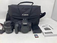 Canon EOS Rebel T7i / EOS 800D 24.2MP Digital SLR Camera - Black Bundle