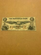 The Missisquoi Bank, Vermont $1