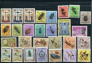 PORTUGAL Guinea 1953 - 62 Complete sets MH