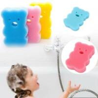 4pc Bath Brushes Accessories Baby Shower Wash Bath Brushes Sponge Cartoon Body