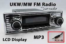 Retrosound Laguna Komplettset Chrom-B Oldtimer Radio MP3 AUX-IN L308309B078039
