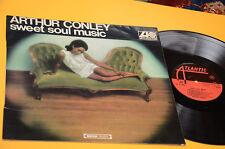 ARTHUR CONLEY LP SWEET SOUL MUSIC 1°ST ORIG ITALY 1967 EX TOP RARE LAMINATED COV