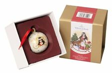 Villeroy and Boch Annual Christmas Edition 2015 Bauble BIANCANEVE NUOVO IN SCATOLA Ball