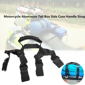 Motorcycle Bike Aluminum Tail Box Side Case Handle Strap Luggage Rope for BMW