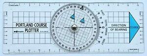 Original Portland Plotter Kurslineal Kursplotter Navigation Segeln