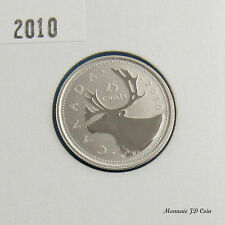 2010  Canada  25 Cent Caribou Spécimen Coin Gem Uncirculated  From Set