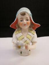 Art Deco Galluba & Hoffmann Dutch Girl Pin Cushion Half Doll 5740