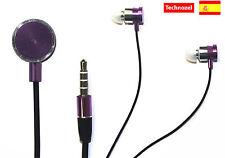 Auriculares Para Iphone 5 5s 5c Con Microfono Rosa Claro Alta Calidad Headphones