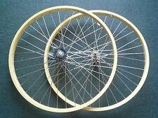 """Beach Cruiser bike 26""""x1.75 Rear & Front Clicher Wheels vanilla"""
