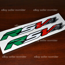 aprilia new style italian color RSV4 decals for midfairings