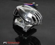 Motorcycle Retro Brake Stop Taillight Lamp Mount Chrome Grill Cover For Harley