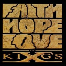 King's X Faith hope love (1990) [CD]