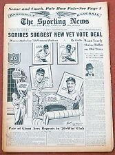 9-16-59 SPORTING NEWS BASEBALL