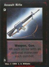 VTES V:TES - Assault Rifle - Equipment / Jyhad
