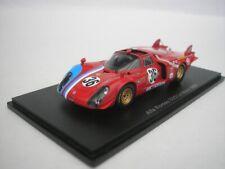 Alfa Romeo 33/2 #36 Lemans 1969 T.Pilette / R. Slotemaker 1/43 spark S8800