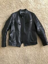 Schott Perfecto P665H Asset Horween Horsehide 37/50 Limited Black leather jacket