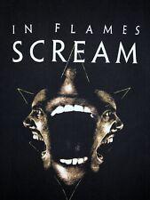IN FLAMES ~ SCREAM S/S T-SHIRT ~ Size L Classic rock