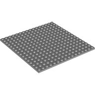 LEGO 91405 Loose Part Dark Bluish Gray Base Plate 16x16 NEW (Thicker Version)